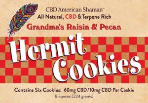 CBD Hermit Cookies